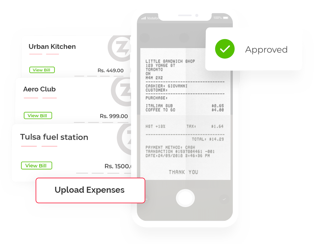 Expense Reporting, Submit Expenses on the go - Expense Management